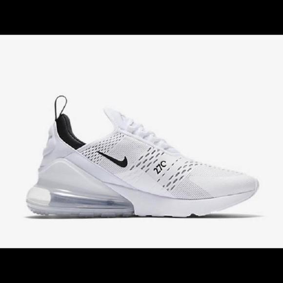 Shoes | Nike Air Max 27 White | Poshmark